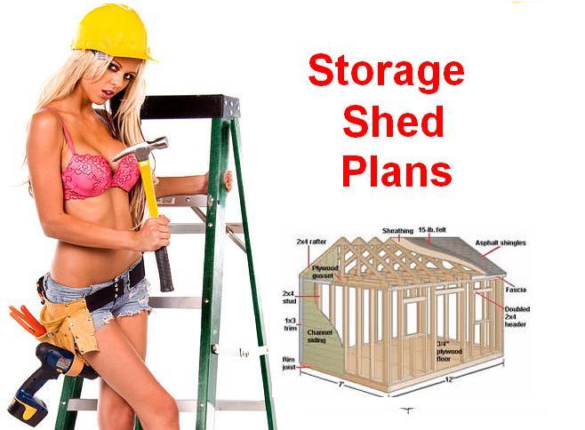 storage building plans 10 x 16